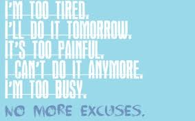 In The End, Excuses Don't Matter