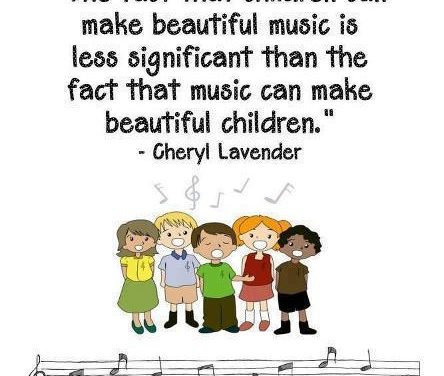 Ode to Joy – Beautiful Music and Beautiful Children