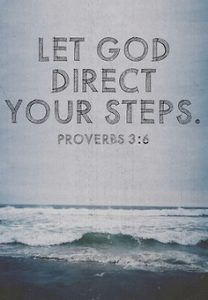 Listen and Follow God's Direction
